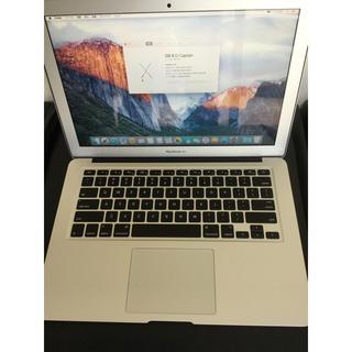 マック(Mac (Apple))の美品MacBook Air (13.3インチ 2015)i5 512GB SSD(ノートPC)