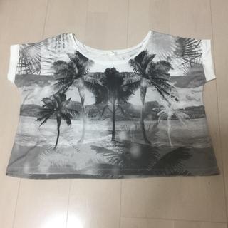 ジーユー(GU)のTシャツ GU(Tシャツ(半袖/袖なし))