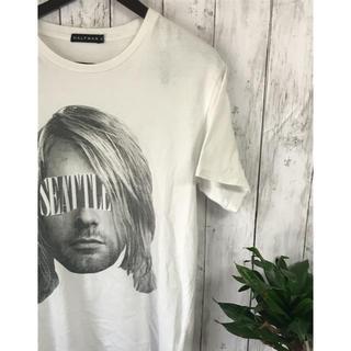 ハーフマン(HALFMAN)のHALFMAN デザイン Tシャツ(Tシャツ/カットソー(半袖/袖なし))