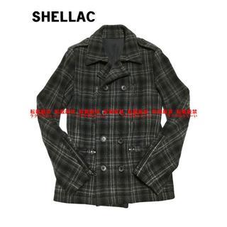 シェラック(SHELLAC)のSHELLAC タスマニア/カシミアニット メルトンPコート(ピーコート)