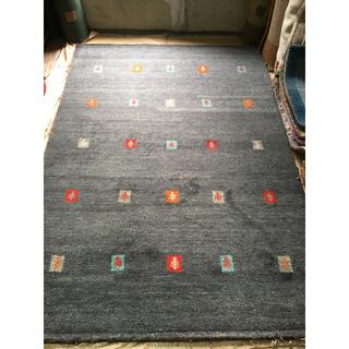 ウールギャベ  手織り 170×240cm 新品未使用 インド製
