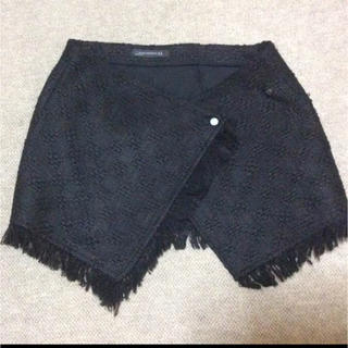 ZARA - 定価約6000円 ミニツイード巻きスカート