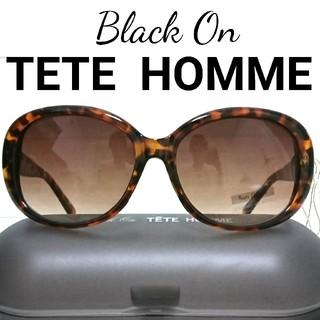 テットオム(TETE HOMME)の夏の大セール! 早い者勝ち! 大きめフレームサングラス  定価10,800円(サングラス/メガネ)