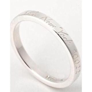 ティファニー(Tiffany & Co.)のティファニー 正規品 指輪 ノーツ リング 9号 結婚指輪 ペアリング にも♡(リング(指輪))