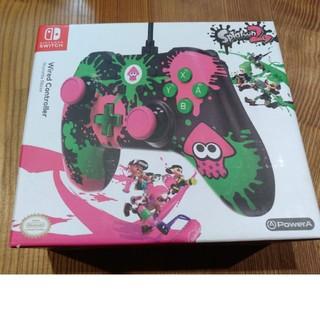 Nintendo Switch - 【海外レア】任天堂スイッチ用コントローラー スプラトゥーン2仕様