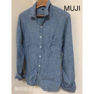 MUJI (無印良品) - 【MUJI 無印良品】リネンシャツ