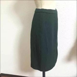 パコラバンヌ(paco rabanne)の9802 高級 paco rabanne paris タイト ニット スカート(ひざ丈スカート)