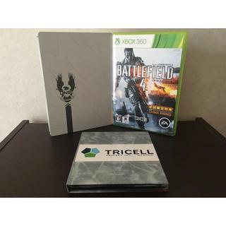 エックスボックス360(Xbox360)のXBOX360 ソフト バトルフィールド4 & バイオハザード5 & HALO4(家庭用ゲームソフト)