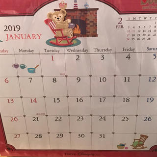 Disney - ダッフィー壁掛けカレンダー!