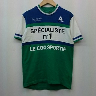 ルコックスポルティフ(le coq sportif)のLE COQ SPORTIF ルコックスポルティフ サイクリングTシャツ M(ウエア)