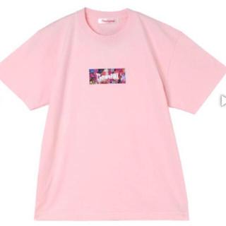 セブンパーセントモアピンク(7% more PINK)の7%morepink Tシャツ ピンク 1周年記念グッズ bubbles(Tシャツ(半袖/袖なし))