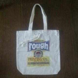 ラフ(rough)のrough 布バッグ  未使用品(トートバッグ)