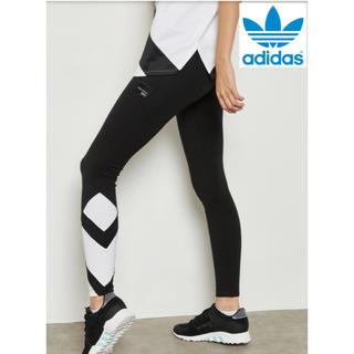 アディダス(adidas)の【 Mサイズ】新品タグ付 adidas レギンス アディダス  ブラック希少(レギンス/スパッツ)