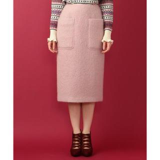 デイシー(deicy)の未使用 タグ付♡デイシー ♪モヘアループタイトスカート ピンク♡(ひざ丈スカート)