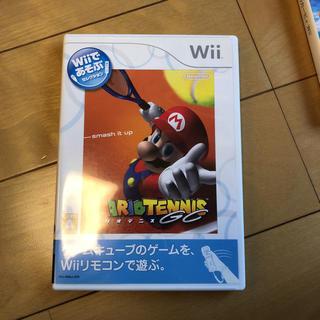 ウィー(Wii)のwii マリオテニス(家庭用ゲームソフト)