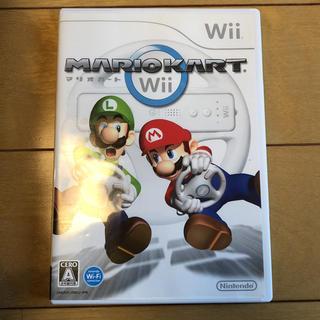 ウィー(Wii)のwii マリオカート(家庭用ゲームソフト)
