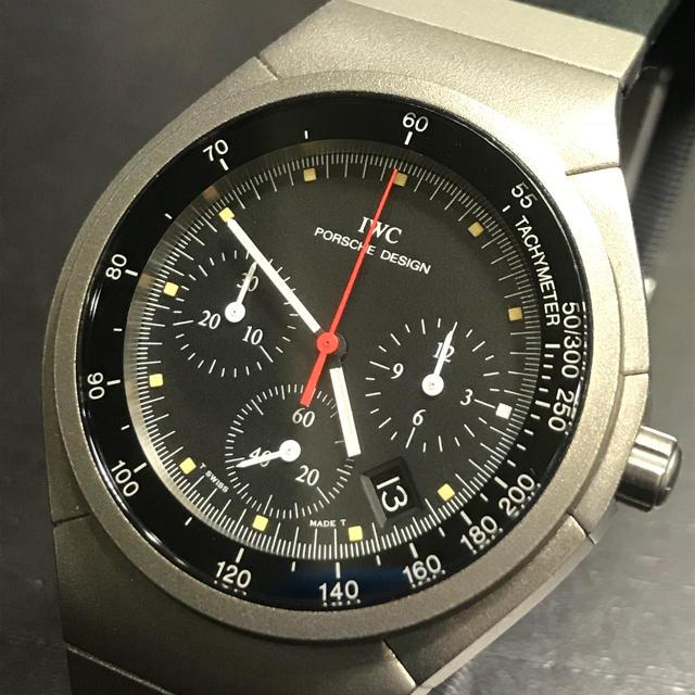 the latest 17e64 1792f IWC ポルシェデザイン クォーツ ヴィンテージ | フリマアプリ ラクマ