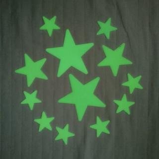 光る 星 ステッカー(その他)