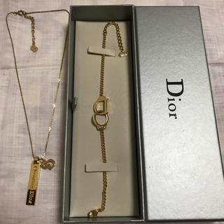 ディオール(Dior)の【週末限定タイムセール】Diorのネックレス&ブレスレット(ネックレス)