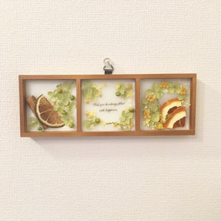 natural plate ※アロマワックス