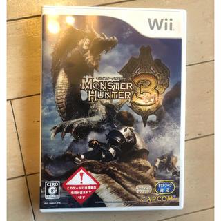 ウィー(Wii)のwii モンスターハンター3(家庭用ゲームソフト)