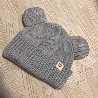 petit main - petit main くま耳ニット帽