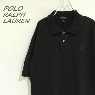 ポロラルフローレン(POLO RALPH LAUREN)のポロラルフローレン ポロシャツ 半袖 黒 I-296(ポロシャツ)
