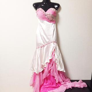 エンジェルアール(AngelR)のエンジェルアール ロングドレス ビジュー キャバドレス キャバ ドレス(ナイトドレス)