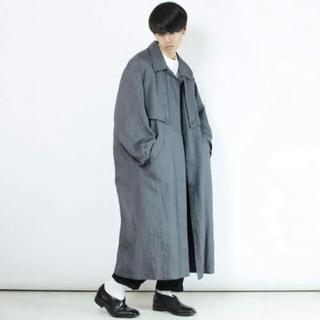 ドゥルカマラ(Dulcamara)のnoill 18ss grey fly flont long coat(トレンチコート)