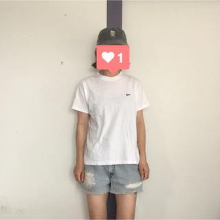 ナイキ(NIKE)のNIKE ロゴ刺繍TEE(Tシャツ(半袖/袖なし))