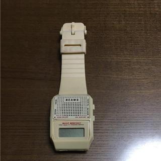 ビームス(BEAMS)のビームス トーキングウォッチ オリジナル(腕時計(デジタル))