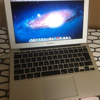 マック(Mac (Apple))の【値下げ】MacBook air 2012(ノートPC)