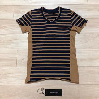 ウノピゥウノウグァーレトレ(1piu1uguale3)の1 piu 1 uguale 3 ボーダー Tシャツ カットソーⅢ(S)AKM(Tシャツ/カットソー(半袖/袖なし))