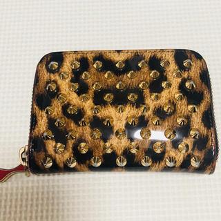 クリスチャンルブタン(Christian Louboutin)のルブタン 財布 ヒョウ柄(財布)