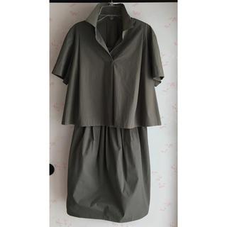 INED  半袖シャツ&スカート セットアップ  11号