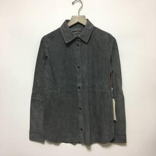 新品 カレントエリオット スウェードシャツ 1 グレー / A293