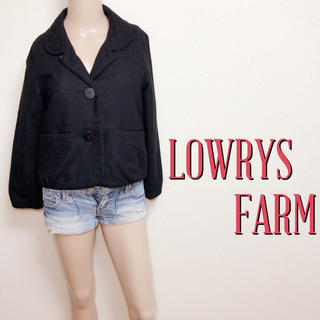 ローリーズファーム(LOWRYS FARM)のいつでも♪ローリーズファーム お上品ウールジャケット♡ザラ スナイデル(ピーコート)
