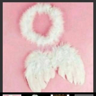 ★即購入可★天使の羽 天使の輪 ベビーコスチューム