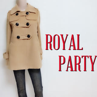 ロイヤルパーティー(ROYAL PARTY)の間違いなし♪ロイヤルパーティー 極かわPコート♡アングリッド ジルスチュアート(ピーコート)