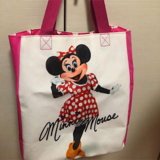 ディズニー(Disney)のミニー実写トートバッグ(トートバッグ)