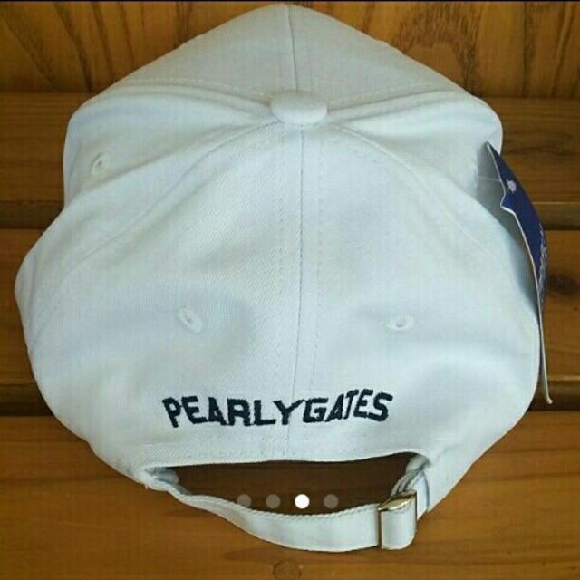 PEARLY GATES(パーリーゲイツ)の値下げ パーリーゲイツキャップ スポーツ/アウトドアのゴルフ(その他)の商品写真