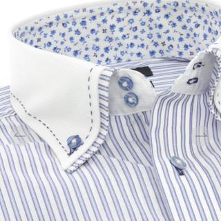エムエフエディトリアル(m.f.editorial)のm.f.editorial スリムフィット ワイシャツ  2枚衿(シャツ)