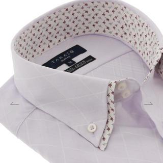 エムエフエディトリアル(m.f.editorial)のワイシャツ 半袖 TAKA-Q Sサイズ スリムフィット(シャツ)