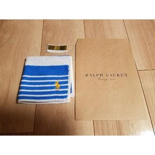 ラルフローレン(Ralph Lauren)の新品 ラルフローレン タオルハンカチ (ハンカチ/ポケットチーフ)