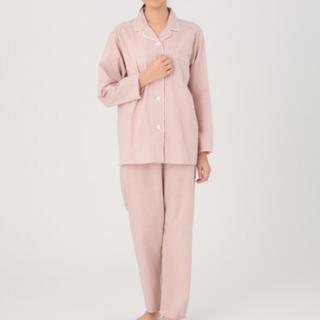MUJI (無印良品) - 脇に縫い目のないブロード パジャマ・婦人M