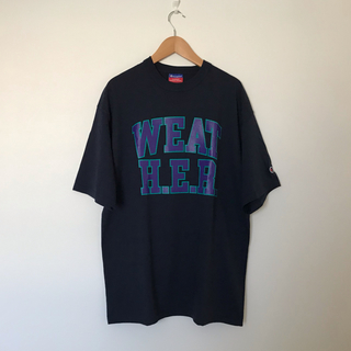 ワンエルディーケーセレクト(1LDK SELECT)のAlwayth WEATH.E.R TEE Exclusive M ネイビー(Tシャツ/カットソー(半袖/袖なし))