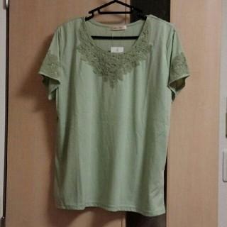 ベルーナ(Belluna)の新品タグ付き★レースプルオーバー(Tシャツ(半袖/袖なし))