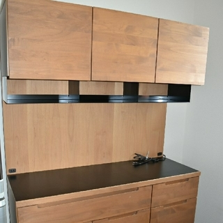 ウニコ(unico)の食器棚 unico WYTHE(ワイス) キッチンボード W1200(キッチン収納)
