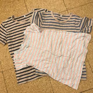 MUJI (無印良品) - 無印良品  140㎝  130㎝  110㎝  3枚お揃い  Tシャツ等