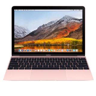 マック(Mac (Apple))の新品未使用 MacBook 12インチ ローズゴールド 保証付(ノートPC)